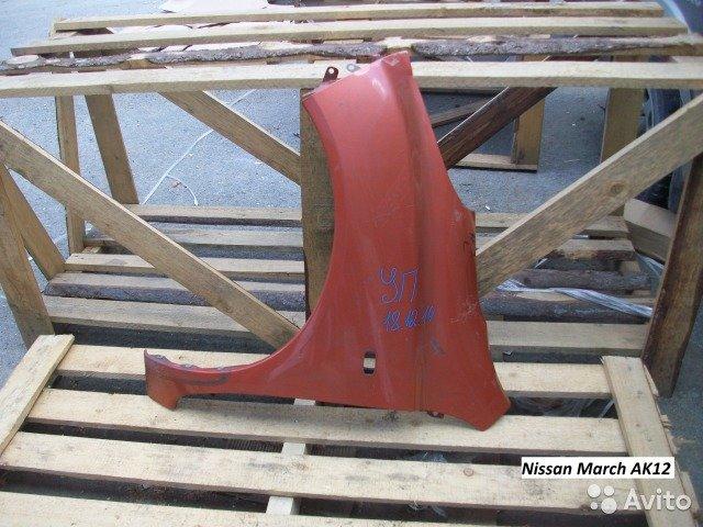 Крыло на Nissan March AK12 для Nissan March
