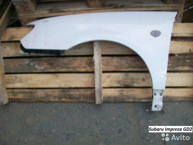 Крыло на Subaru impreza GG3 для Subaru Impreza
